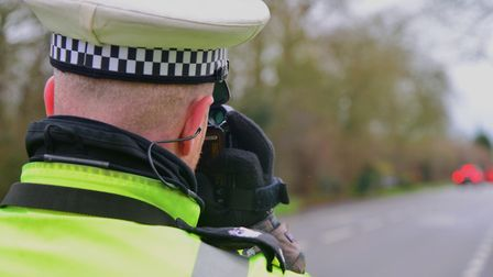 Police carrying out speed checks in Suffolk. Stock image. Picture: SIMON PARKER