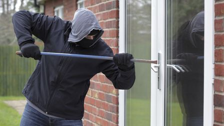 Stock image of a burglar. Picture: BRIAN A JACKSON