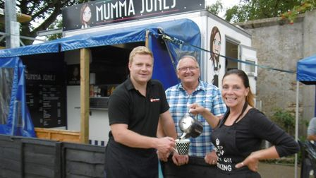 Marly Jones and his mum Debs, who have taken over the business from Mike Langridge who ran his Lange
