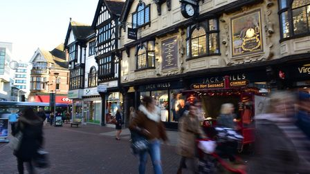 Town centres have to be about more than just shops. Picture: SARAH LUCY BROWN