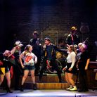 CBM Theatre stage Rock of Ages - The Musical at Felixstowe's Spa Pavilion. Photo: Gavin King photogr