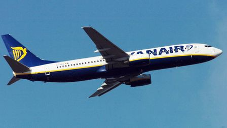 Ryanair announced it will be cancelling between 40-50 flights each day for six weeks. Picture: CHRIS