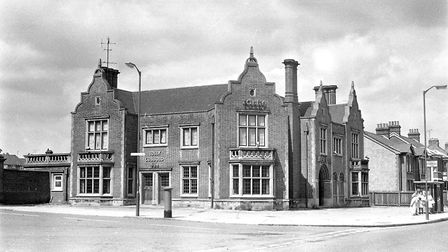 The Haven Hotel at the junction of Felixstowe Road and Ransome Road, Ipswich, in July 1974. Picture: