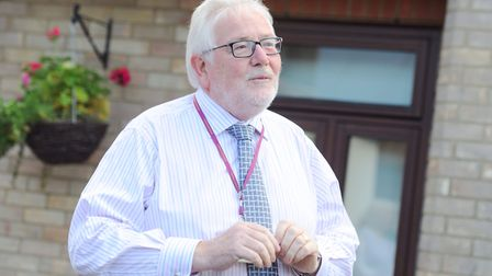 Chief executive of the St Elizabeth Hospice, Mark Millar. Picture: SARAH LUCY BROWN