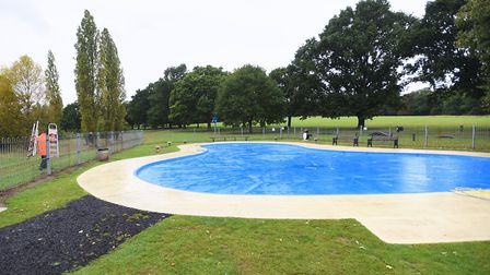 Bourne Park paddling pool closes for a day to allow maintenance work. Picture: ARCHANT