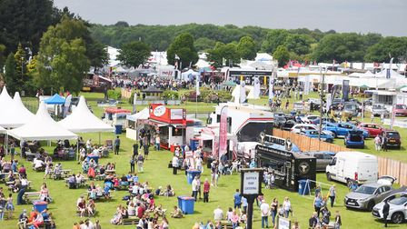 Huge crowds flock to the Suffolk Show at Trinity Park in Ipswich. Picture: GREGG BROWN