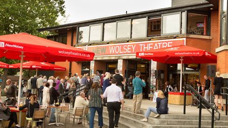 The New Wolsey Theatre in Ipswich is one of the town's most popular venues. Picture: Mike Kwasniak