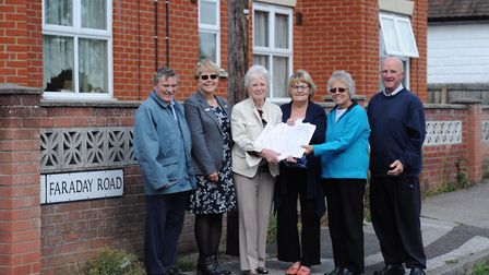 Campaigners around Faraday Road in Ipswich are calling on Suffolk County Council to implement a 20mp