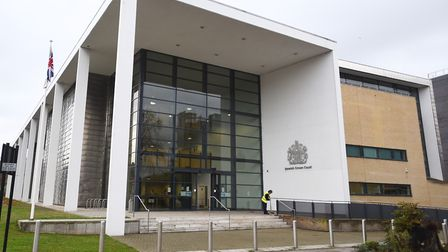 Ipswich Crown Court heard that Jonathan Field tried to 'gouge a woman's eyes out'. Picture: GREGG BR