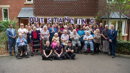 Bucklesham Grange Care Home has been awarded an 'outstanding' rating by the Care Quality Commission,