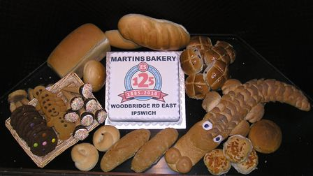 Some of the yummy goods on offer at Martin's Bakery. Picture: CONTRIBUTED