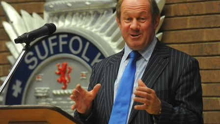 Suffolk's Police and Crime Commissioner Tim Passmore. Picture: SIMON PARKER