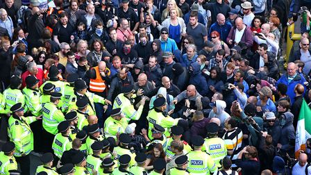 Police intervening in Liverpool to protect members of National Action (stock image) Picture: PETER B