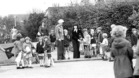 The first day back at school at Dale Hall Primary School in 1978