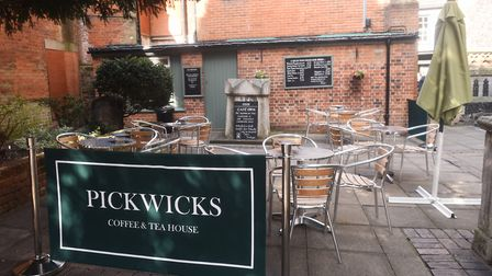 Pickwicks coffee and tea house, Ipswich. Picture: CONTRIBUTED