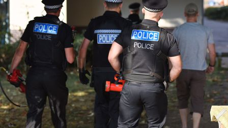 Police have waged a crackdown on drugs gangs in the town, but do they need more resources? Picture: