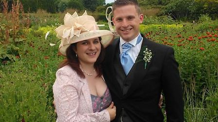 Mike Ginn with his wife Fiona