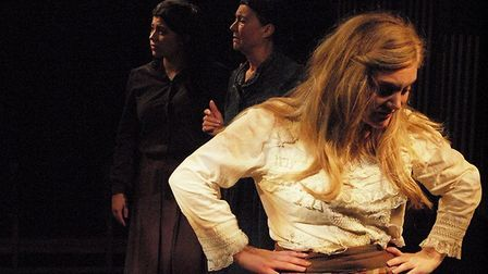 Leanne Wilcox as Bathsheba in the Gallery Players production of Far From The Madding Crowd at the Si