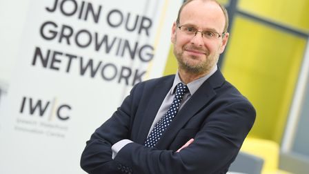The IWIC (Ipswich Waterfront Innovation Centre) celebrates its first anniversary. Pictured is Tim Gr