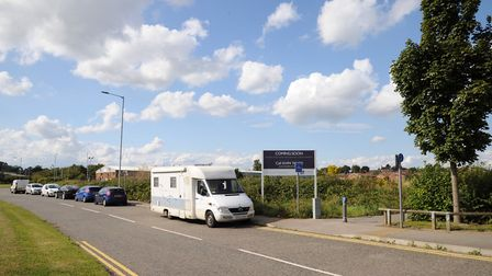 Europa Way, Ipswich, where Aldi is planning to create a new store. Picture: ARCHANT