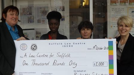 Left-right, Audrey Ludwig (ISCRE); Fatima Ceesay (ISCRE); Bela Mamedova-Cutting (ISCRE); Louise Long