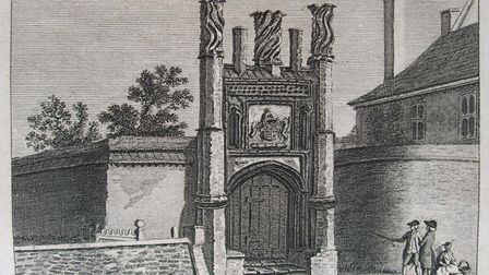 Thomas Wolsey Gate. Picture: JOHN BLATCHLY