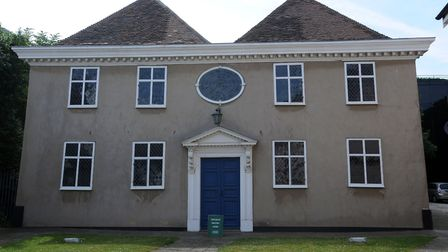 The Unitarian Meeting House. Picture: PHIL MORLEY
