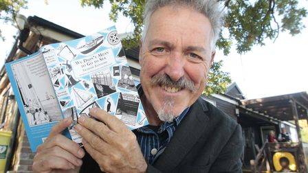 Griff Rhys Jones took part in a marathon reading of We Didn't Mean to Go to Sea at The Club House, P