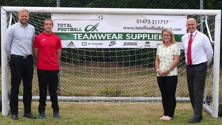Inspire Suffolk have announced that Total Football will be their new kit sponsor. Picture: INSPIRE S