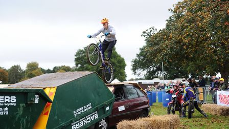 Thousands of people flocked to the Copdcock Motorcycle Show. Picture: SARAH LUCY BROWN