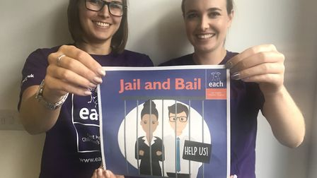BBC Radio Suffolk presenter Wayne Bavin is set to take part in a 'jail and bail' fundraising event f