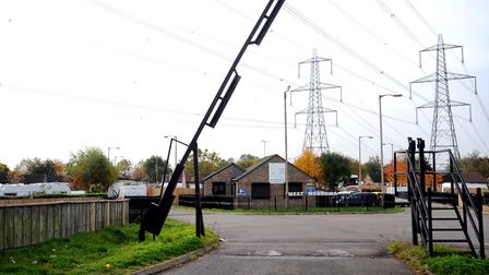 West Meadows travellers site in Ipswich. Picture: ARCHANT
