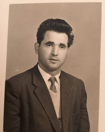 When he came to the UK from Italy in 1962