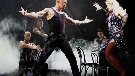 Robin Windsor appearing in Burn The Floor with Kristina Rihanoff in London's West End. Picture: ROBI