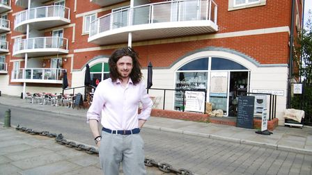 On Ipswich Waterfront, and owner Kie Humphreys