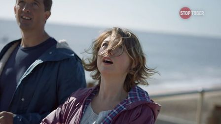 Suffolk's coast was one of the locations for the filming