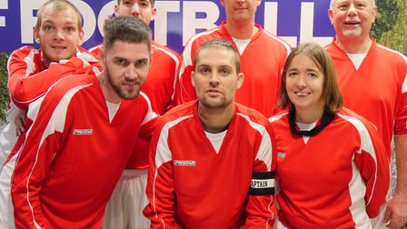 Lyndon House Salvatuion Army Lifehouse football team. Picture: CONTRIBUTED