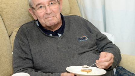 Ron Budd has spoken of the care he has received from St Elizabeth Hospice in Ipswich. Picture: ST E