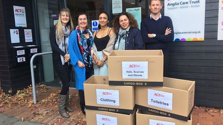 Staff and volunteers at Anglia Care Trust are seeking donations for their ACTober appeal. Picture: A