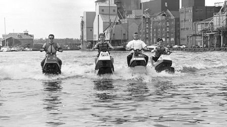 Water sports took centre stage in Ipswich in 1989