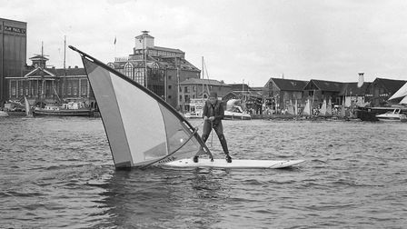 Windsurfing was one of the many events on offer