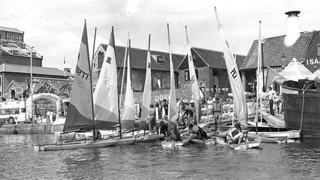 A group gets set to sail