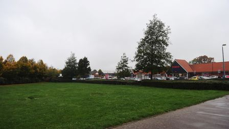 Ropes Drive Tesco land for sale in Kesgrave. Picture: LUCY TAYLOR