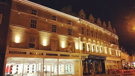 The former nightclub is now Charlotte House and converted into town centre apartments, in Tacket Str
