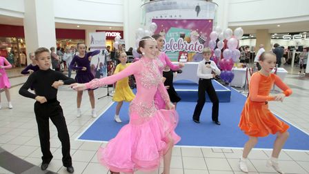 Buttermarket Shopping Centre, Ipswich, celebrates 25th anniversary with Ipswich School of Dance perf