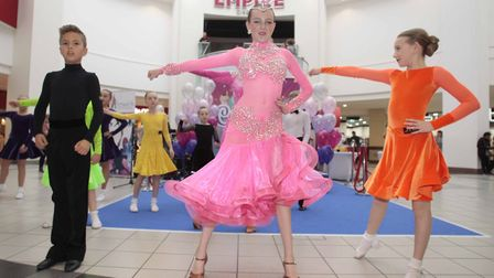 Ipswich School of Dance performance to mark the 25th anniversary of the Buttermarket shopping centre
