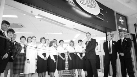 Boots is the only original store still open from the selection of shops and restaurants that opened