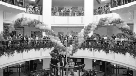 The opening of the Buttermarket in October 1992. Picture: ARCHANT