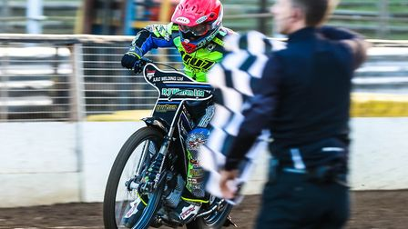 Danny King led the Witches in Sheffield. Picture: STEVE WALLER