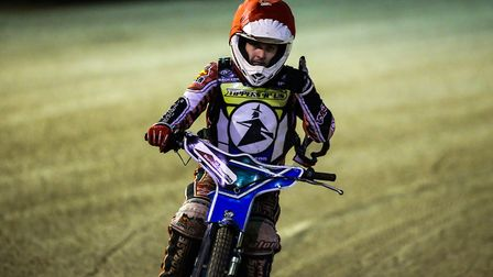 Former Ipswich number one Ben Barker was back in action for the Witches. Picture: STEVE WALLER